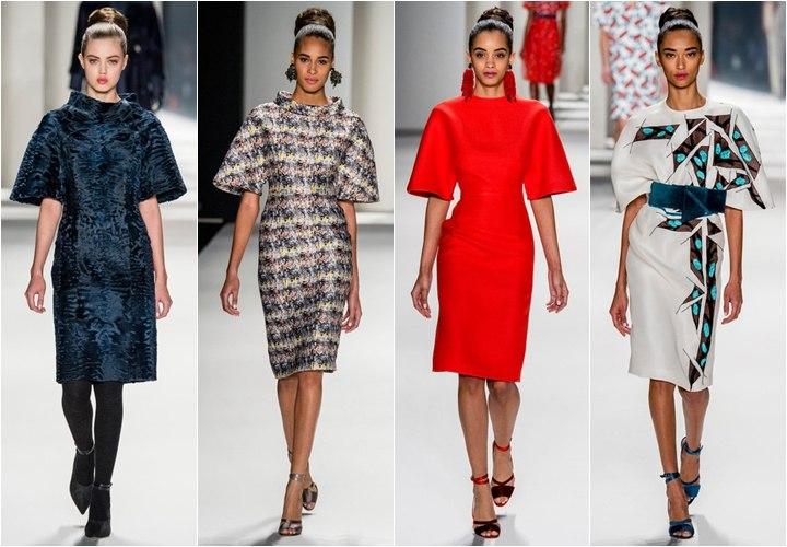 Модные рукава платьев на 2017