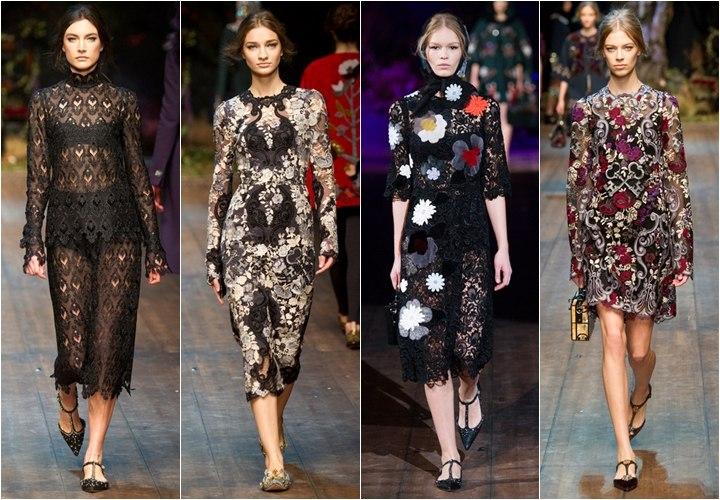 Коллекция платьев осень зима 2015