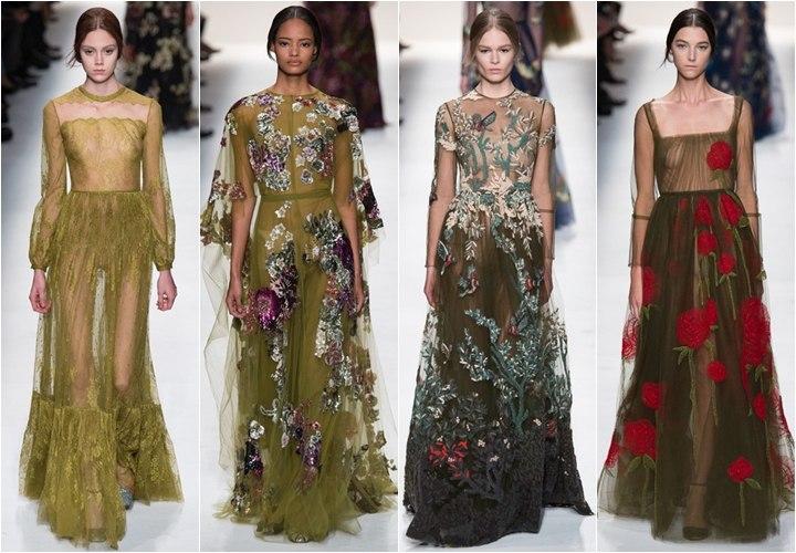 Длинные платья 2015 фото